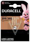 Duracell Uhrenbatterie 399/395 SR57 SR927 SG7 LR57, 1er Pack