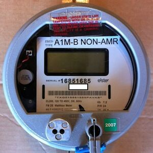 ELSTER WATTHOUR METER KWH, A1RL+, FM2S, 200A, 120V-480V, ZERO RESET