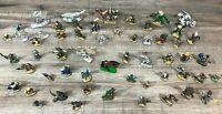 Vintage Dungeons Dragons Miniatures D&D Painted Unpainted 55 Pieces Unbranded