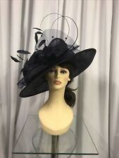 Snoxell & Gwyther Hat, Wedding Occasion, Formal Races Navy