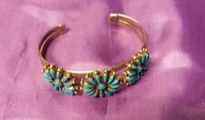 Turquoise Silver Bangle Native American Jewellery