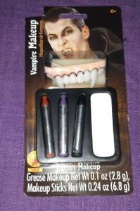 Rubie's Vampire Makeup Grease/Sticks NIP