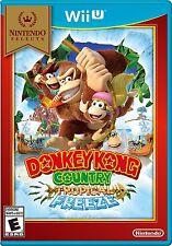 DONKEY KONG COUNTRY TROPICAL FREEZE * NINTENDO Wii U * BRAND NEW FACTORY SEALED!