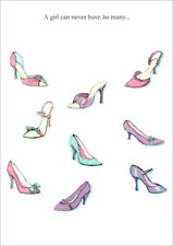 Pastel Colored Pumps Birthday Card - Greeting Card by Freedom Greetings