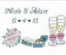 Cross Stitch Kit ~ Janlynn Wedding Day Announcement #021-1831