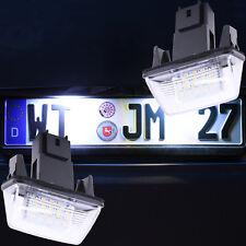LED Kennzeichenbeleuchtung Peugeot 206 207 307 406 407 5008 Partner Tepee 7601