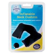 2x Travel Supersoft Neck Cushion Relax Pillow Microbead 2 Black