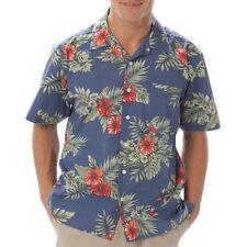 Camicie casual da uomo floreale con colletto regolare
