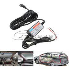 Micro USB Hardwire Power DVR Mobile Phone 5V 2.1A 90 degree Angled Plug