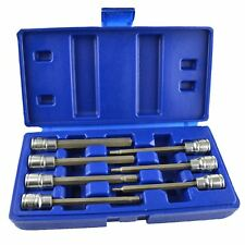 Long Hex / Allen Key Socket Bit Set by BERGEN AT090
