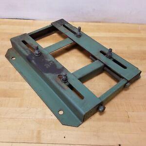 "Dayton 2M516, Adjustable Steel Motor Base Plate. Nema 324, 22-3/4"" L x 19-1/4"" W"