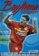 Programm 1999/00 Bayer 04 Leverkusen - Arm. Bielefeld