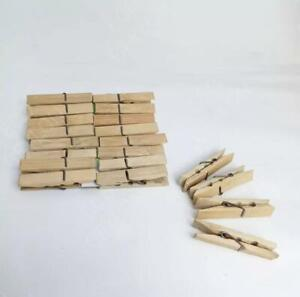 40 Eco Friendly Bamboo Pegs -100% Biodegradable-