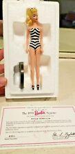 The Danbury Mint Mattel Barbie Figurine ~ Barbie Swimsuit 1993 ~ New in box