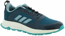 adidas Womens Response Trail X Wide Running Walking Hiking Shoes Blue Size 9 New