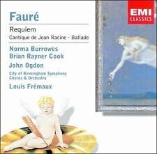 Faure: Requiem etc CD (2001)