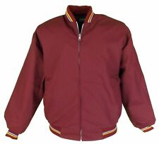 Burgundy Classic Monkey/Harrington Jacket X Small to XXXlarge