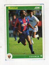figurina card - CALCIATORI CARD SCORE 1993  - numero 391 COSENZA MARULLA