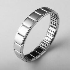 Mens Titanium Magnetic Bracelet Therapy Arthritis Pain Relief Health Heal Bangle