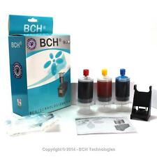 Premium Ink Refill Kit for HP 22 28 57 817  Color Cartridges H1057C