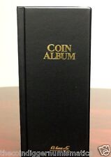 Harris Coin Stock Book 80 Pocket Album for 2x2 Holders Storage Whitman Holder