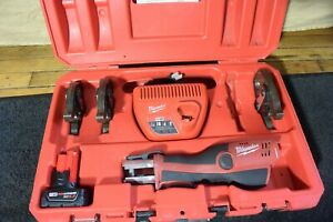 Milwaukee Model 2473-22 Press Tool Crimper with 3 Jaws