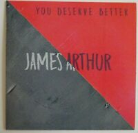 JAMES ARTHUR : YOU DESERVE BETTER ▓ X-RARE FRENCH PROMO CD ▓ as new !