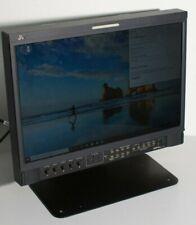 """JVC DT-V17L2D Multi Format LCD Monitor 3G DVI HD-SDI 16:9 Broadcast Ecran 17"""""""