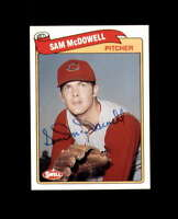 Sam McDowell Hand Signed 1989 Swell Baseball Greats Cleveland Indians Autograph