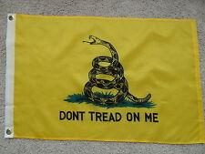 "GADSDEN ""DON'T TREAD ON ME"" TEA PARTY FLAG 2'X3'"