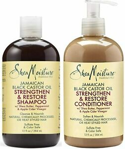 Shea Moisture Jamaican Black castor Oil Strengthen / Grow & Repair Whole Range