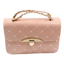 Frauen Clutch Mode Abendtasche Pfirsich Herz Tasche Frauen Leder Handtasche S5K4