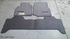 5NEW OEM TOYOTA LAND CRUISER GRAY CARPET FLOOR MATS & CLIPS 1998-2002