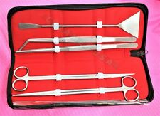 5in1 Stainless Steel Aquarium Fish Tank Aquatic Plant Tweezers Scissor Tool Set