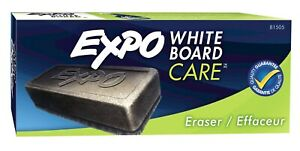 81505 Expo Whiteboard Care Dry Block Eraser, Soft Pile, Pack of 8