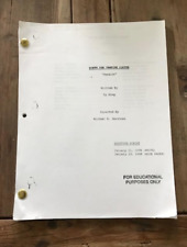 "Buffy The Vampire Slayer Tv Shooting Script ""Passion"""