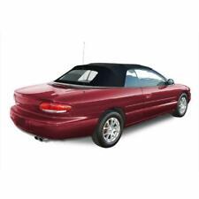 1996-2006 NEW Chrysler Sebring Convertible Soft Top & Heated Glass window Black