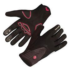 New Men's Endura Windchill Winter Gloves Full Finger MTB Bike Black XXLarge