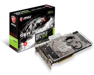 MSI Geforce GTX 1070 Sea Hawk EK X Watercooled
