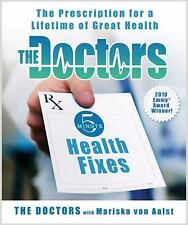 THE DOCTORS 5 MINUTE HEALTH FIXES *brand-spanking new*FREE USPS SHIP TRACK CNFRM