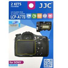 JJC LCP-A77II hard polycarbonate LCD Screen Protector For Sony SLT-A77II  A77II