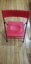 Cosco Kids Juvenile 1 red folding chair with Pinch Free Folding Unisex