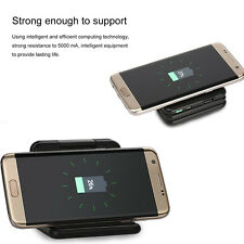5000mAH QI Fast Wireless Charging Power Bank Phone stand for Samsung S8 Andirod