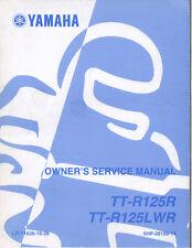 Yamaha TT-R125R/TT-R125LWR Service Manual LIT-11626-16-28