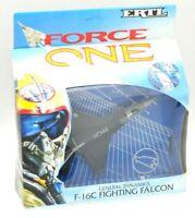 ERTL FORCE ONE F-16C FIGHTING FALCON GENERAL DYNAMICS DIE-CAST IN BOX