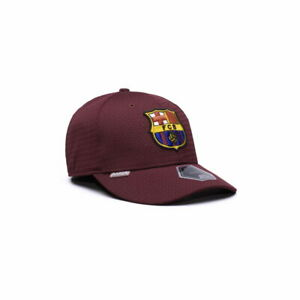 FC BARCELONA PREMIUM STRETCH FIT EMBROIDERED BASEBALL HAT Fi COLLECTION