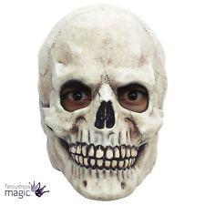 Adults Skull Grin Skeleton Overhead Halloween Horror Fancy Dress Accessory Mask