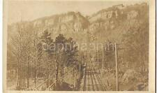 Steep Cable Car Incline LOOKOUT MOUNTAIN TENNESSEE TN 1920s Real Photo Postcard