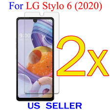 2x Clear LCD Screen Protector Guard Cover Shield Film For LG Stylo 6 (2020)