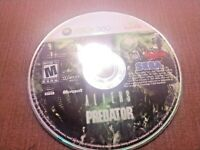 Microsoft Xbox 360 Disc Only Tested Aliens vs Predator SEGA Ships Fast